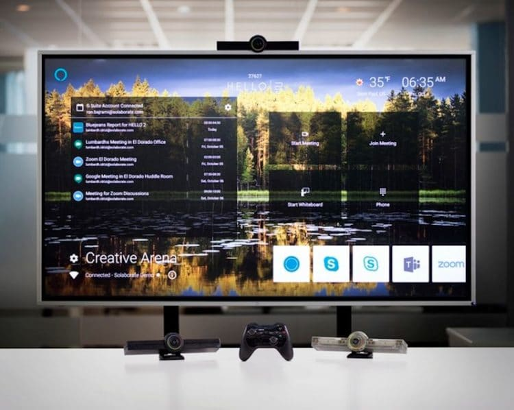 Hello 2 All-In-One TV Companion Upgrades Your Video Conferencing Game