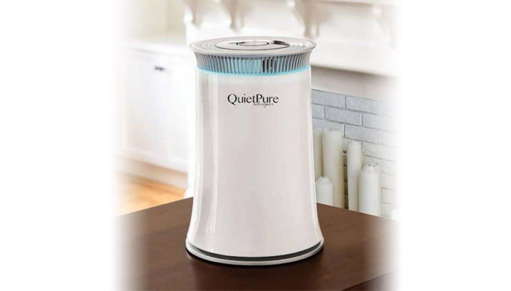 Breathe Cleaner Air Thanks to QuietPure Air Purifier