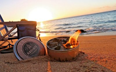 Radiate Offers a Portable Campfire in a Tin Can