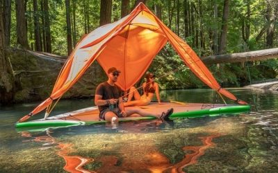 Tentsile Universe 3 in 1: Tent, Hammock and Water Raft