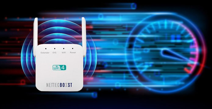 NetTec Boost is a WiFi Repeater Made to Improve Internet Connection at a Small Cost