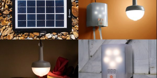Deciwatt NowLight – Sun and Cord Powered Lamp for Off-Grid Energy Independence